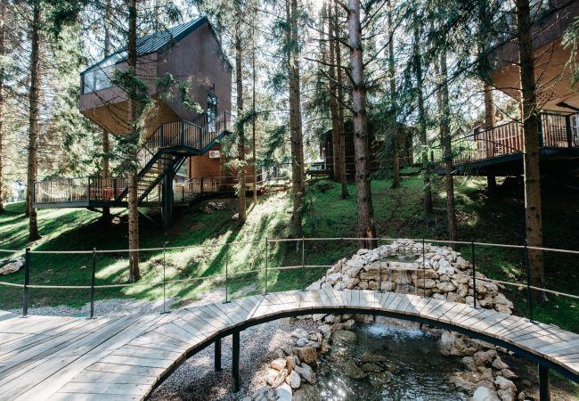 Bungalow/ verbunden mit der Villa in Plitvicka Jezera - Tree House